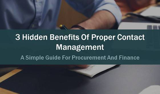 benefit of contract management